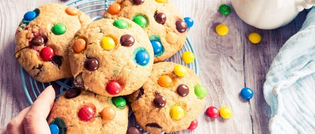 Cookies Mms De Toutes Les Couleurs Recette